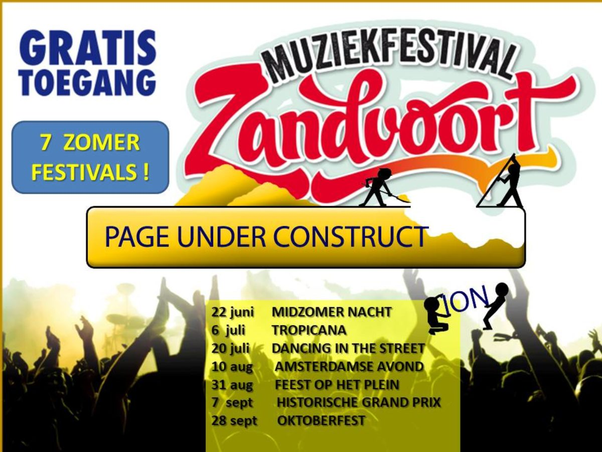Muziekfestival Zandvoort